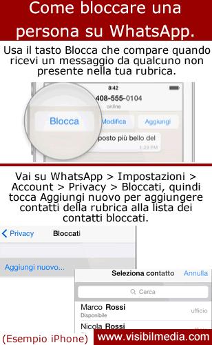 3 Modi per Bloccare un Contatto su WhatsApp - wikiHow