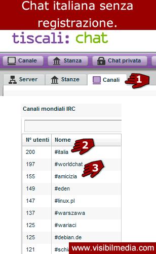 Chat senza registrazione roma